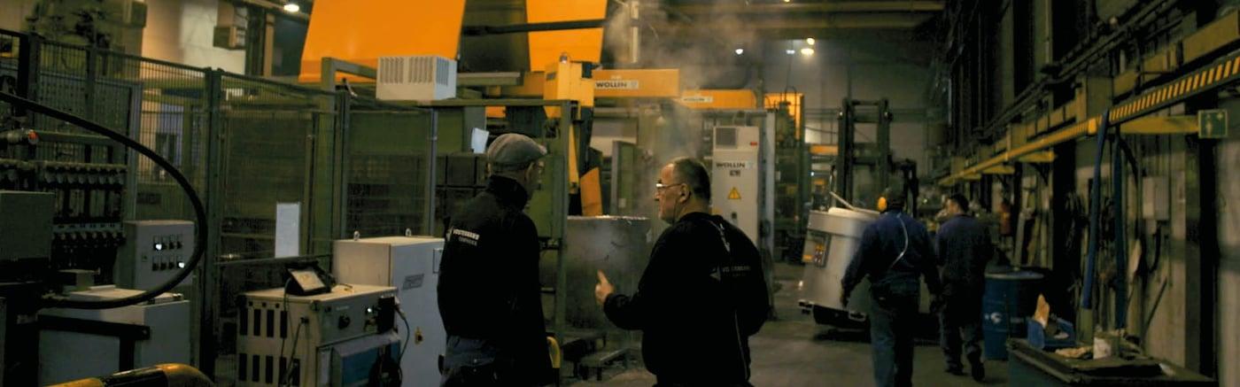 Vostermans Alu Foundries Aluminium Die Casting L