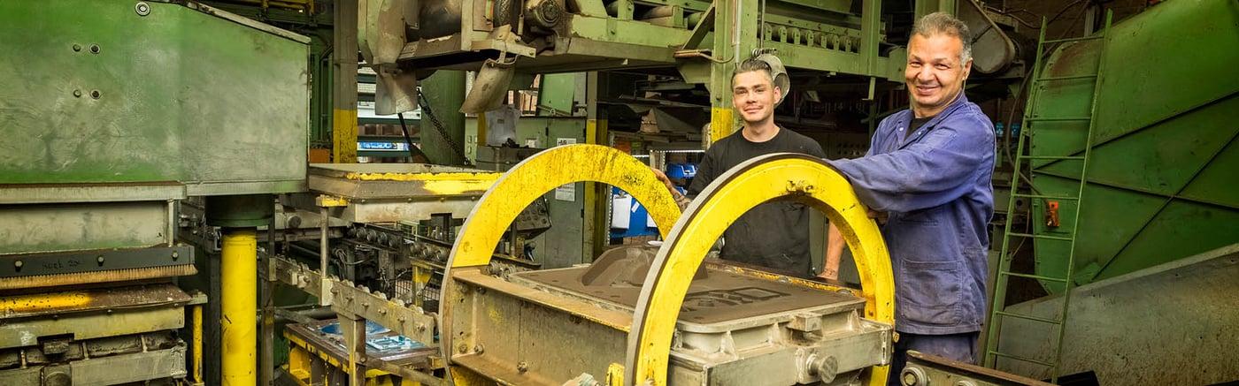 Vostermans Alu Foundries Aluminium Sand Casting L