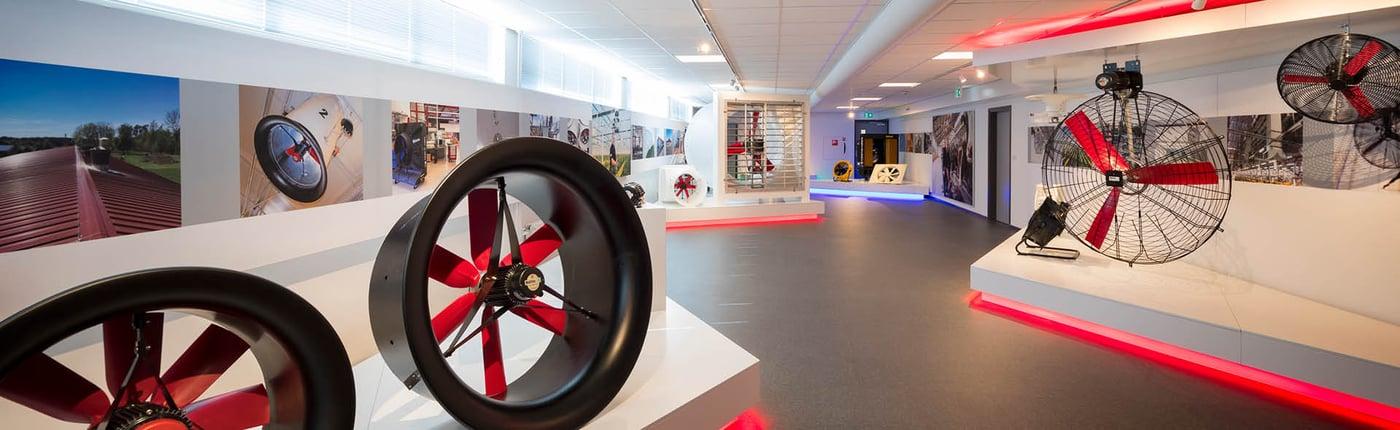 Vostermans Ventilation Showroom