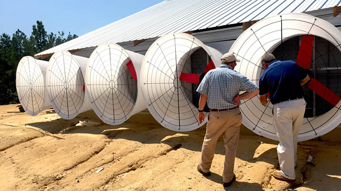 Multifan Ventilateurs à cônes en fibre de verre porcheries