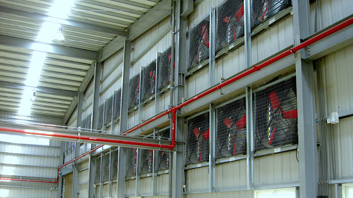 Multifan Galvanized Box Fan Industrial L