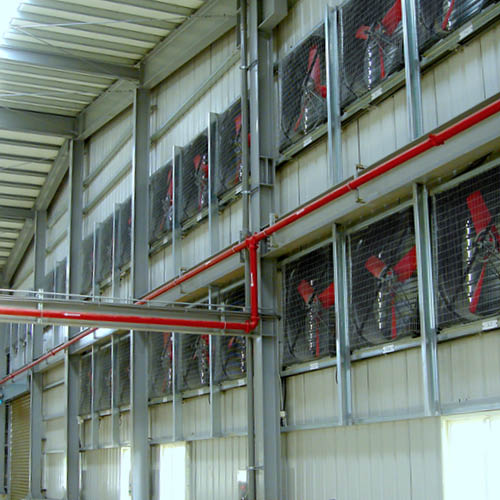 Multifan Galvanized Cone Fan Industry R