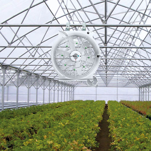 Multifan Horizontal Circulation Fan Greenhouse Nozzle R