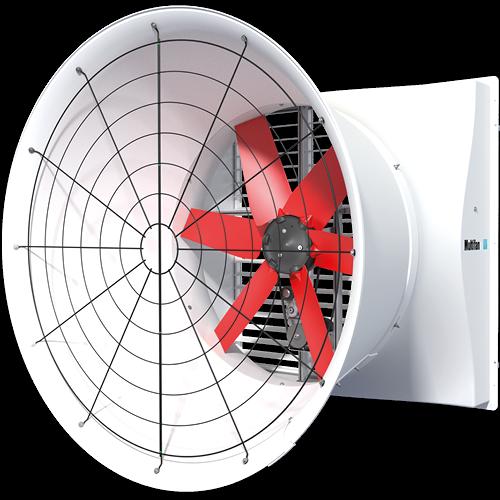 Multifan 玻璃纤维拢风筒风机