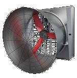 Multifan Ventilateurs muraux galvanisés droits et inclinés