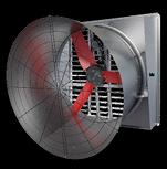 Multifan Gegalvaniseerde Slant- en Straight Wall Ventilator