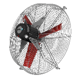 Multifan Grill Mounted Fan