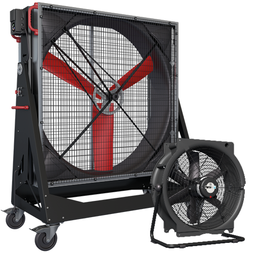 Multifan Mobile Ventilatoren