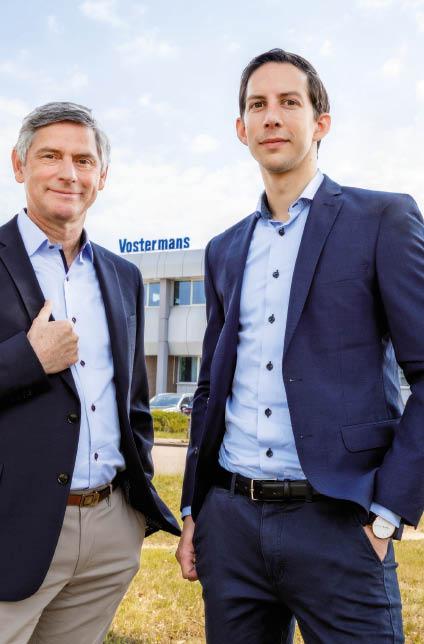 2012 La troisième génération Vostermans rejoint l'entreprise avec Joris Vostermans