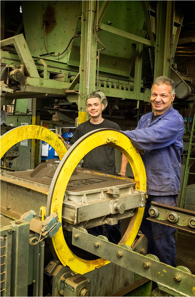 Vostermans Alu Foundries Aluminium Sandguss