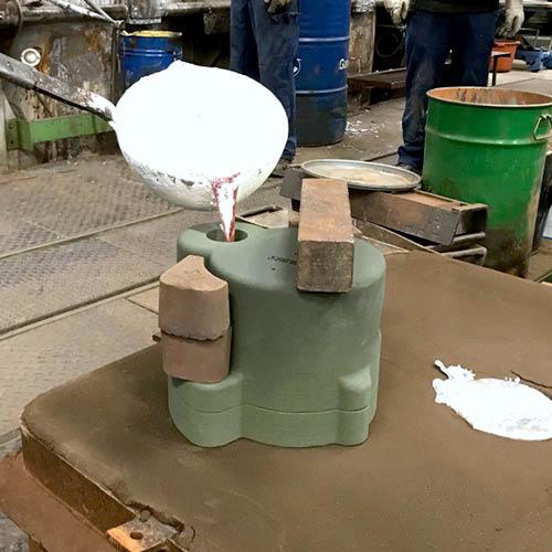 Vostermans Alu Foundries Aluminium 3D Sand Casting R