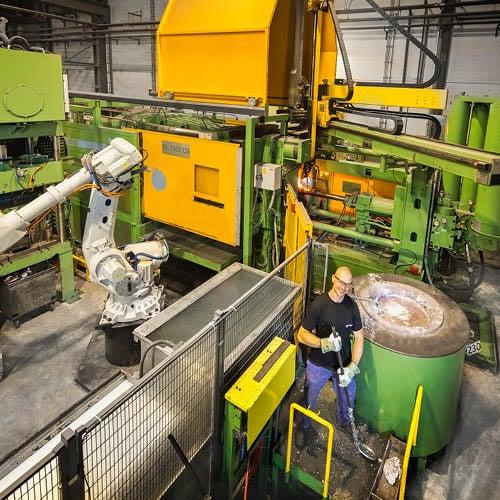 Vostermans Alu Foundries Aluminium-Druckguss