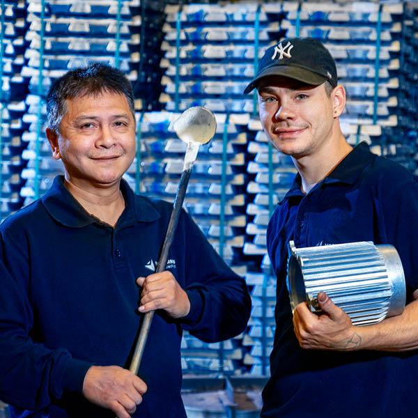 Vostermans Alu Foundries High Quality Aluminium partner R