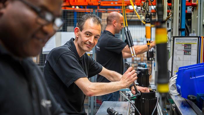 Vostermans Ventilation Factory motor components L