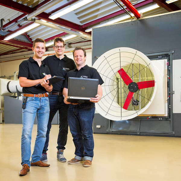 Vostermans通风研发部门玻璃纤维锥风机R