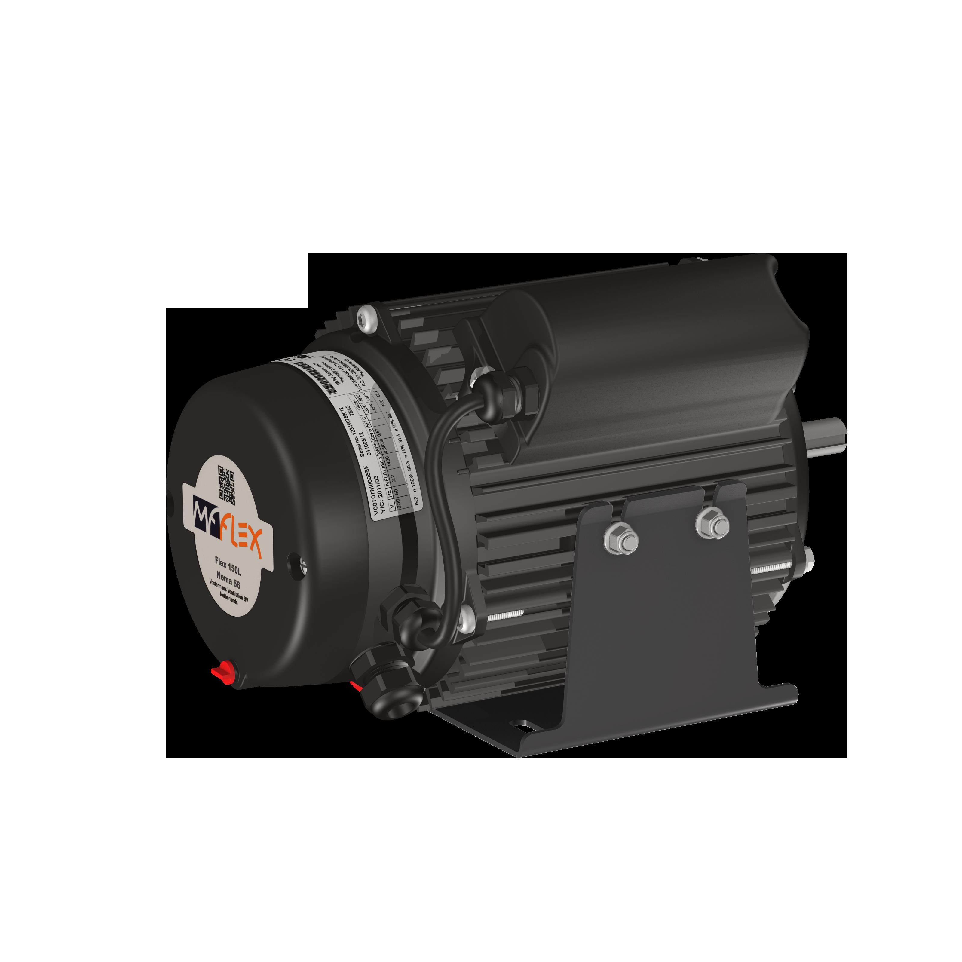 Mf Flex Motor 150L Nema 56 persp T