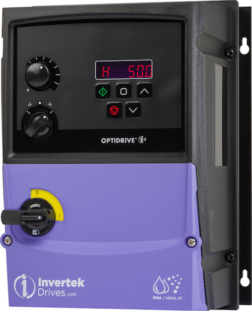 Invertek Optidrive E3 frequentieregelaar