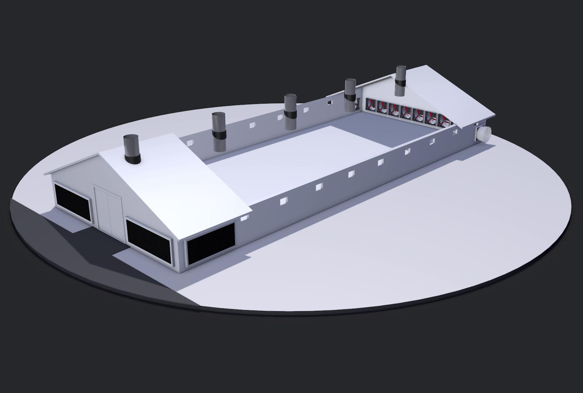Poultry house ventilation systems Vostermans